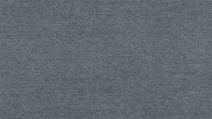 Ecksofa LOGO R Stoff grau motorische Sitztiefenverstellung