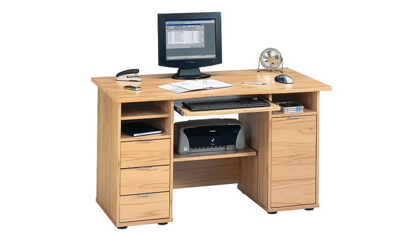 Schreibtisch CSL 220 Computertisch in Kernbuche JAHNKE