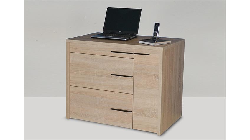 Schreibtisch CL 100 Sonoma Eiche sägerau JAHNKE