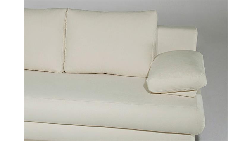 Designersofa ALDO Bettfunktion in 2 verschiedenen Farben