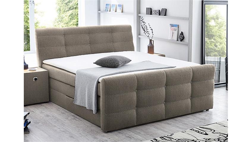 boxspringbett grande cappuccino 180x200 cm produktvideo. Black Bedroom Furniture Sets. Home Design Ideas