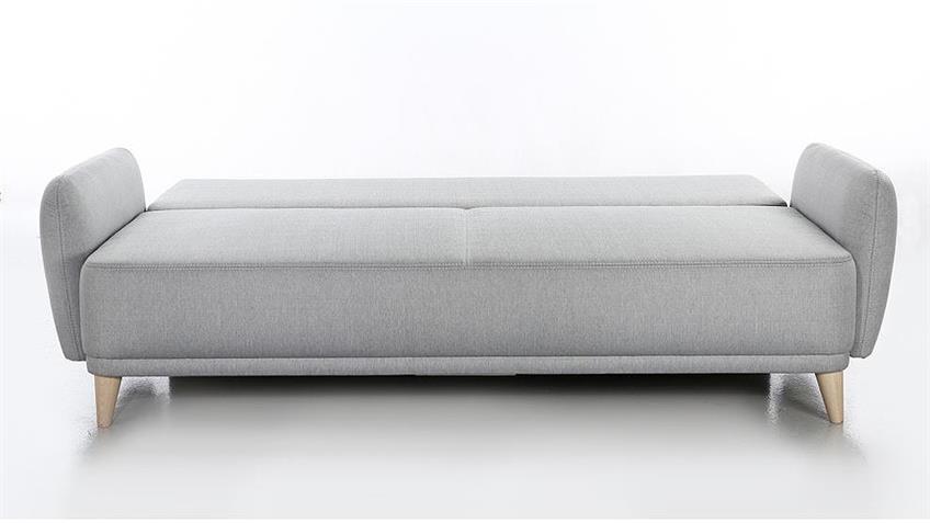 Funktionssofa FINN Schlafsofa in hellgrau 230 cm
