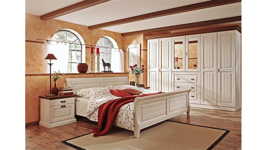 schlafzimmer kiefer massiv weis: schlafzimmer komplett emma kiefer ... - Schlafzimmer Kiefer Massiv Weis