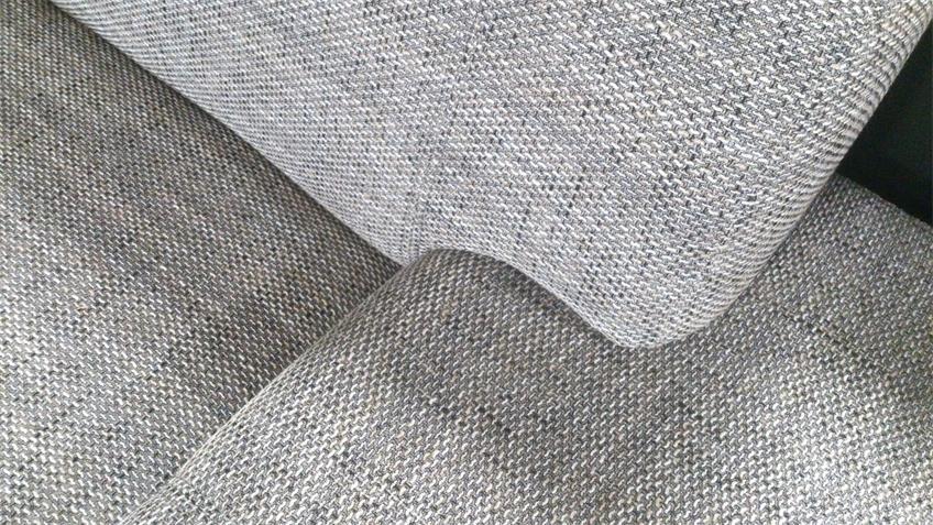 Sofa PETER 3-sitzer Webstoff Salz Pfeffer ca. 215 cm breit