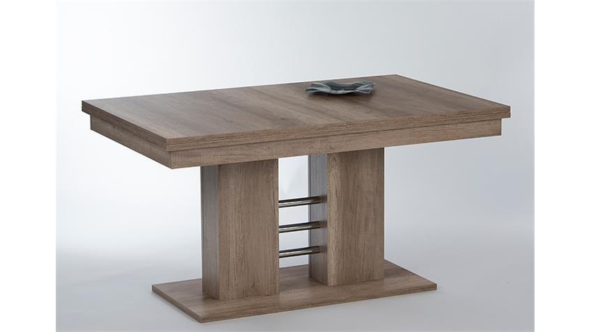 esstisch holger tisch eiche s gerau ausziehbar 140 220. Black Bedroom Furniture Sets. Home Design Ideas
