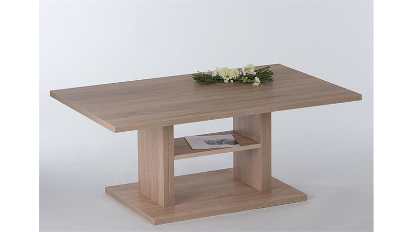 Couchtisch MANILA Beistelltisch Tisch in Eiche sägerau