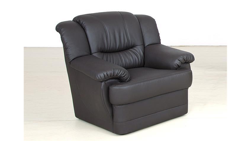 Sessel ORION Einzelsessel Fernsehsessel schwarz