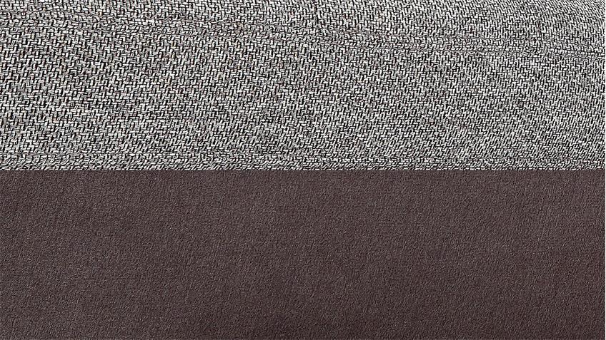 Wohnlandschaft MYNOPOLY in Stoff grau braun inkl. Funktion