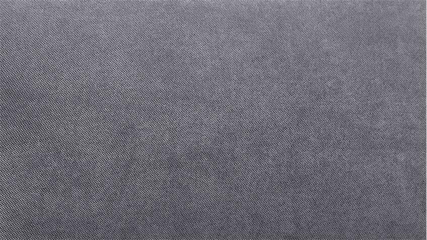 Ecksofa MYNOPOLY in Stoff grau inkl. Kopfteilverstellung