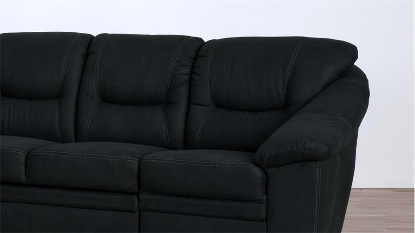 ecksofa talos l form bezug anthrazit mit federkern auf nosagfederung. Black Bedroom Furniture Sets. Home Design Ideas