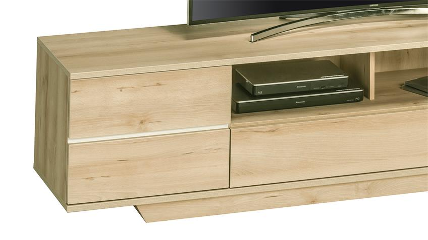 Lowboard Maja 7711 TV-Board Edelbuche mit Push-to-open