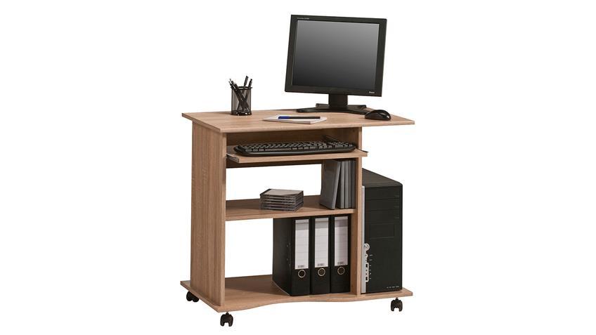 Computertisch Maja 4024 Schreibtisch in Sonoma Eiche