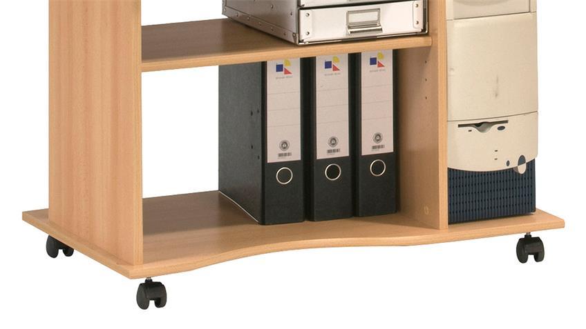 Computertisch Maja 4024 Schreibtisch in Buche
