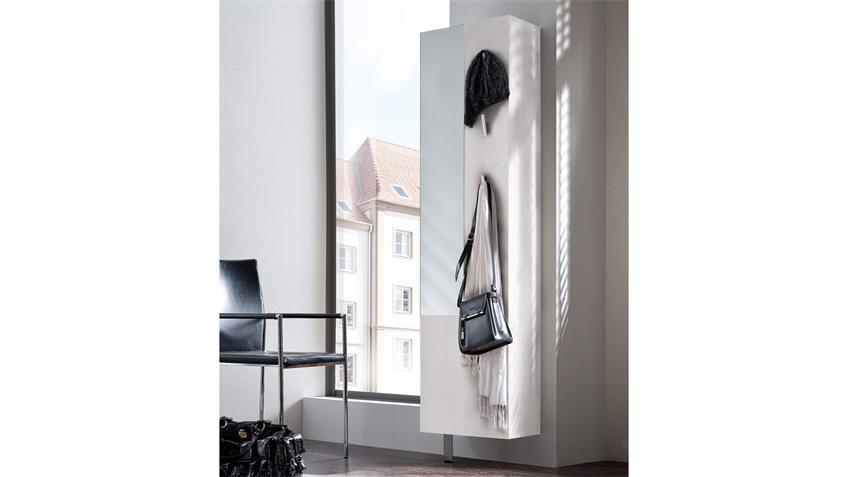Schuhschrank WOODY I Garderobe Schuhregal in weiß drehbar