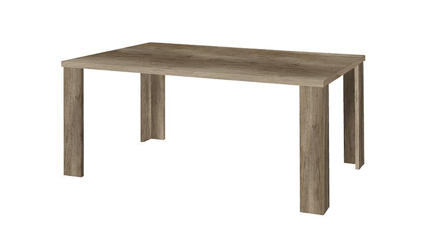 Esstisch JIM Tisch in Wildeiche Trüffel Dekor 180x90 cm