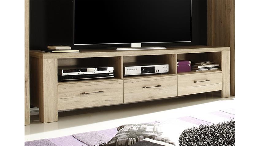 Lowboard III LUPO TV Unterschrank in San Remo Eiche Dekor