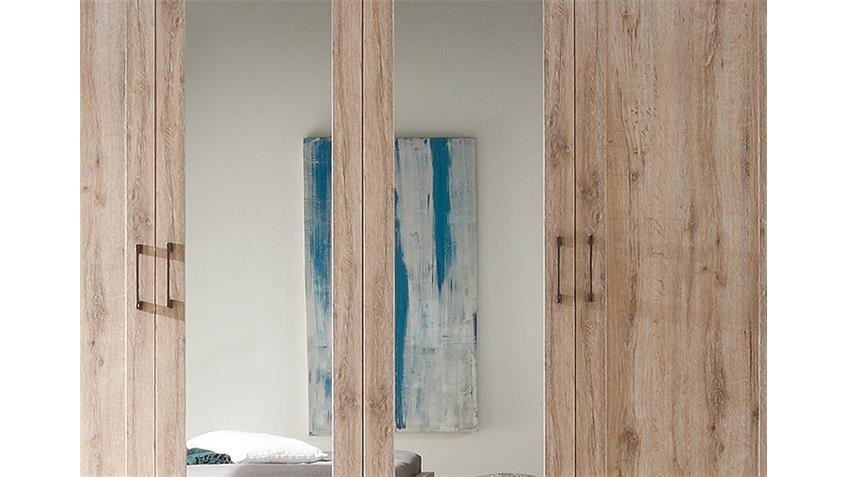 Kleiderschrank LUPO San Remo Eiche 234 cm