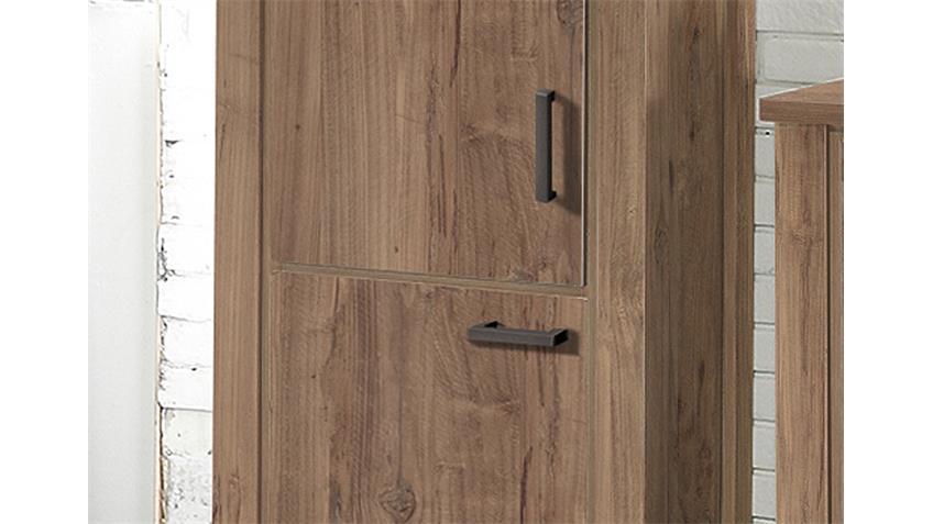 Schrank GRANNY Seitenschrank in Teak mit 2 Türen B 71 cm