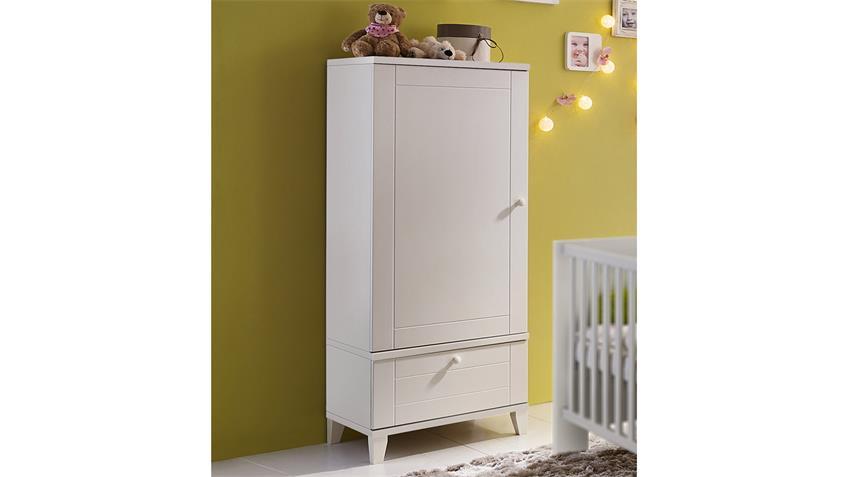 Kommode BELLA Schrank in weiß matt Babyzimmer