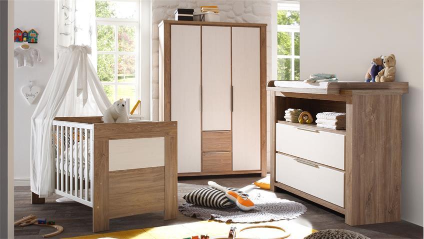 Babyzimmer GRANNY Stirling Oak & Anderson Pine 3-teilig