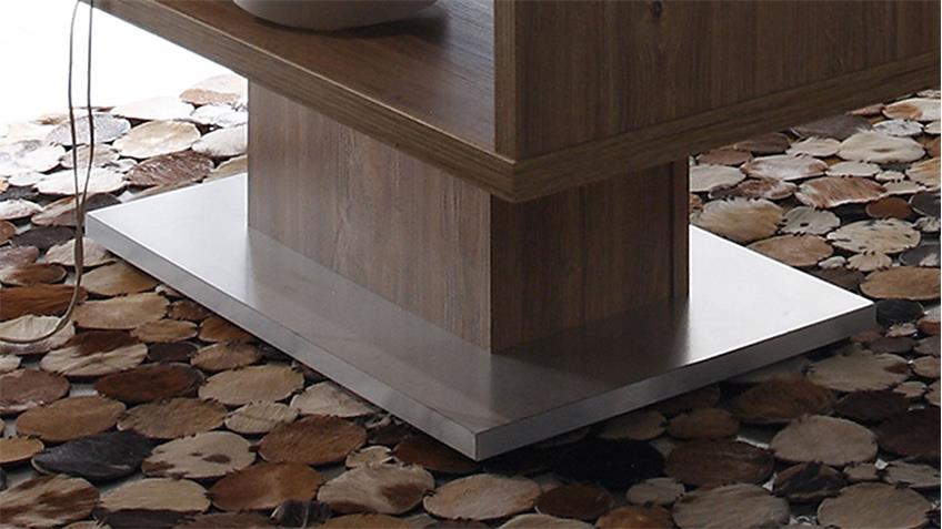 Couchtisch SALINAS Stirling Eiche Tisch mit Fach 110x60 cm