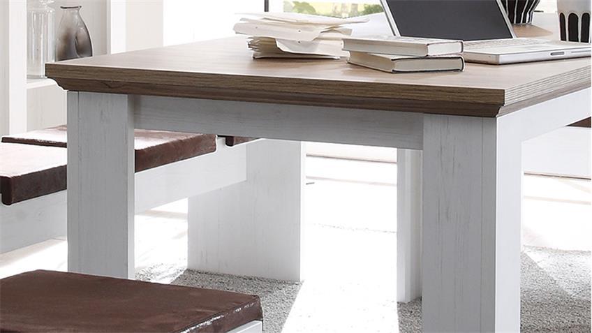 Esstisch COUNTRY Anderson Pine & Eiche ausziehbar 180-260 cm