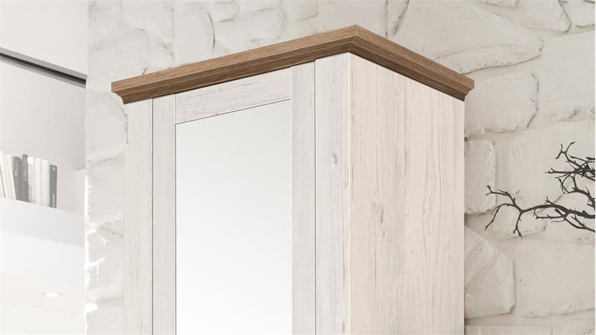 Garderobe COUNTRY Anderson Pine Stirling Oak Set 4-teilig