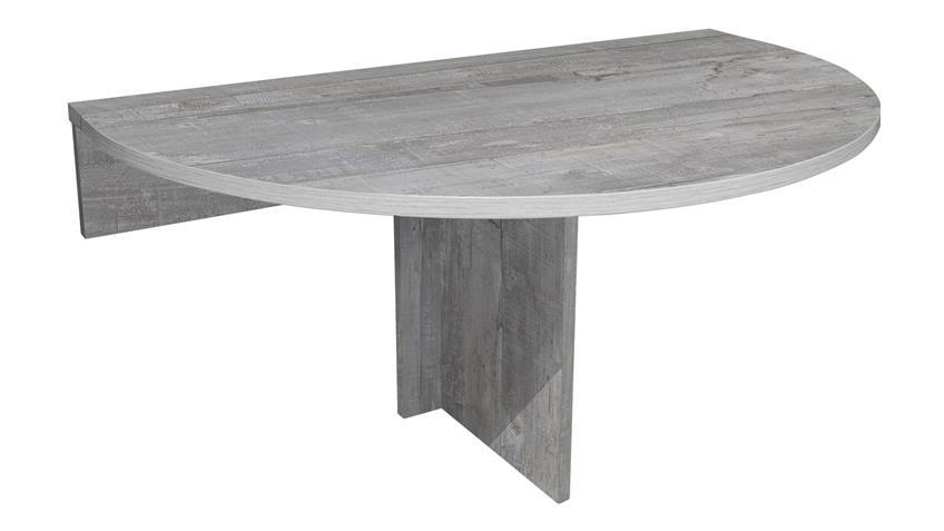 Klapptisch KLAPPI Wandtisch Beton Look Esstisch Tisch rund