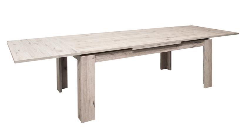 Esstisch MONSA Sandeiche Tisch ausziehbar 160x90 cm