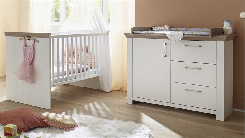 Babyzimmer NEW YORK 2tlg Anderson Pine Nelson Eiche