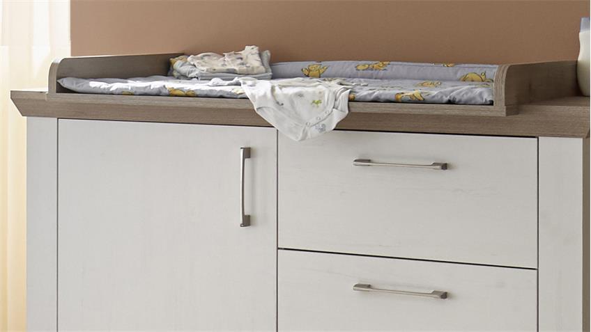 Babyzimmer NEW YORK 3tlg Anderson Pine Nelson Eiche