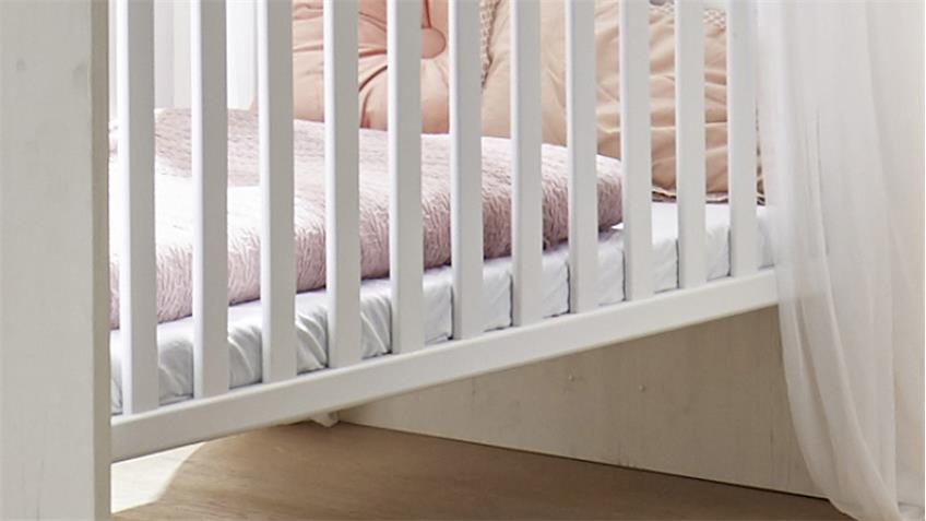 Babyzimmer NEW YORK 6-tlg in Anderson Pine Nelson Eiche