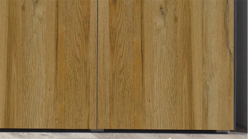 Highboard Dallas Schrank in anthrazit grandson oak