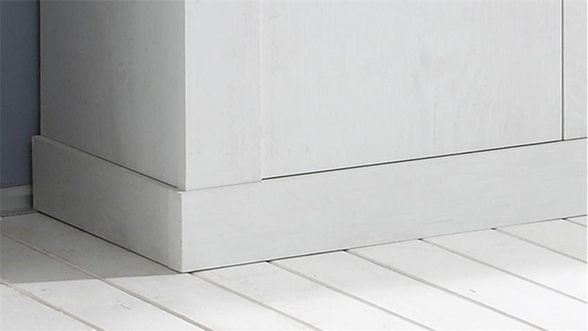 Sideboard Marlin Eiche weiß Eiche vintage Wohnzimmer