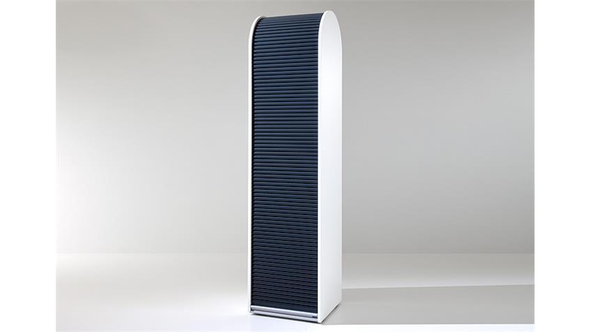 Rollladenschrank KLENK DANCER weiß schwarz abschließbar