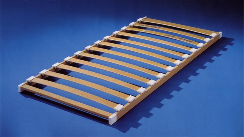 Lattenrahmen HR 500 natur 12 Federholzleisten 90x200 cm