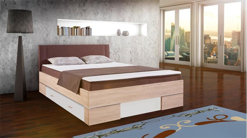 boxbett globe stoff braun matraflex matratze topper 140x200 cm. Black Bedroom Furniture Sets. Home Design Ideas