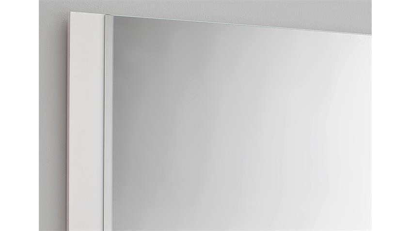 Spiegel OCEAN Wandspiegel Garderobenspiegel weiß Hochglanz