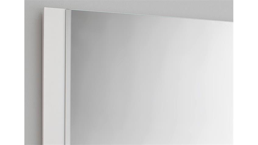 Garderobenset OCEAN Weiß Hochglanz inkl. RGB-Beleuchtung
