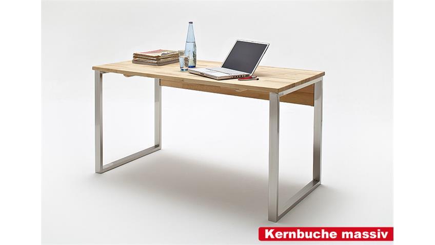 Schreibtisch LUCY Computertisch PC Tisch in Asteiche massiv