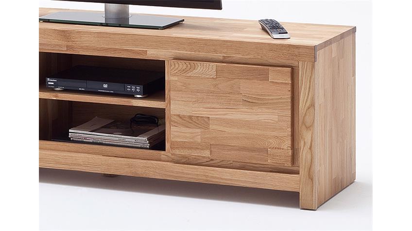 TV-Board SANTOS Lowboard Asteiche massiv geölt und gewachst