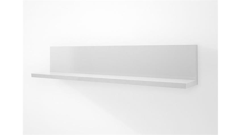 Wandboard CORANO weiß passend für Wohnzimmer