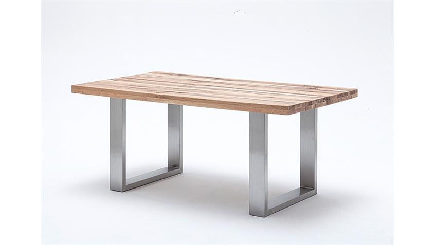 Kufentisch CASTELLO Tisch Esstisch Wildeiche massiv 220