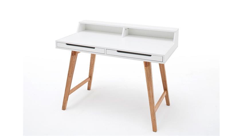 Schreibtisch tiffy wei buche laptoptisch for Schreibtisch untergestell