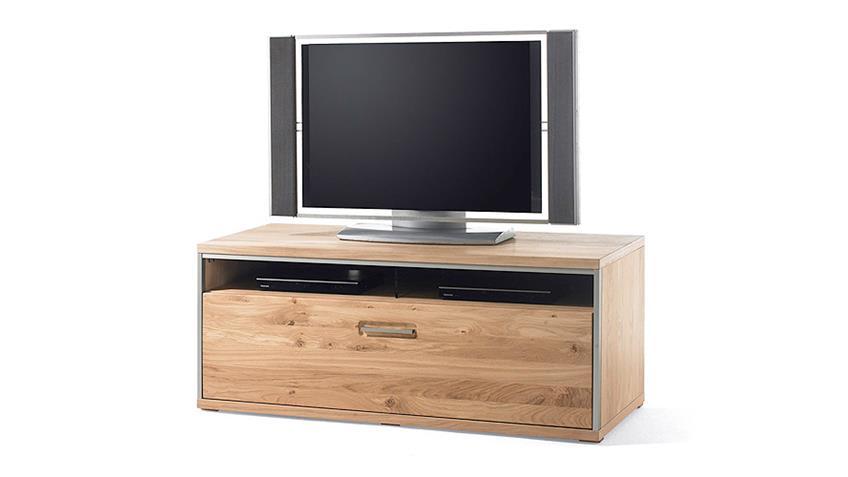 TV-Board 2 ESPERO TV-Unterschrank in Ast-Eiche teilmassiv