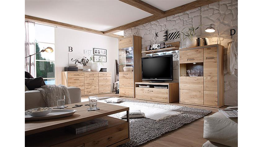 wandboard espero wandregal ast eiche bianco teilmassiv. Black Bedroom Furniture Sets. Home Design Ideas