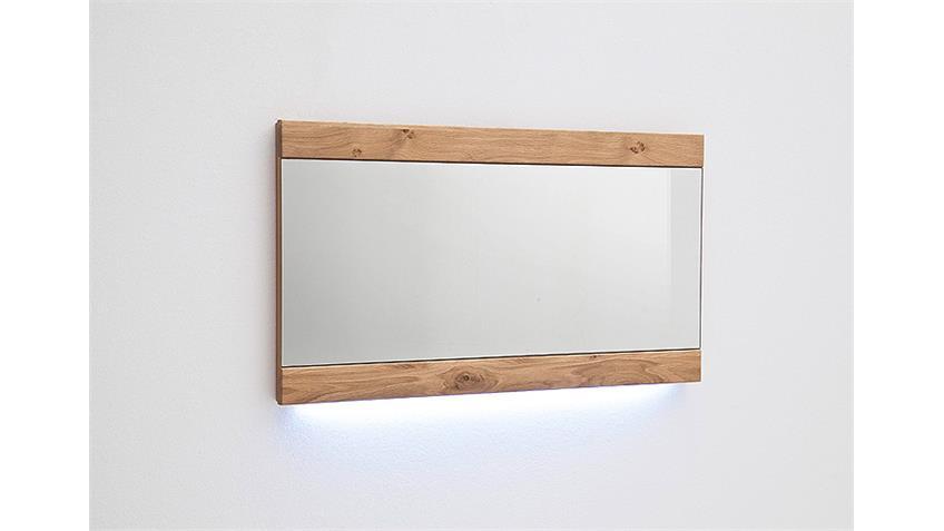 Spiegel ESPERO Wandspiegel in Ast-Eiche Bianco massiv 94 cm