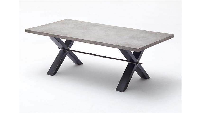 Esstisch GAVI Tisch Esszimmertisch in Betonoptik 240 cm