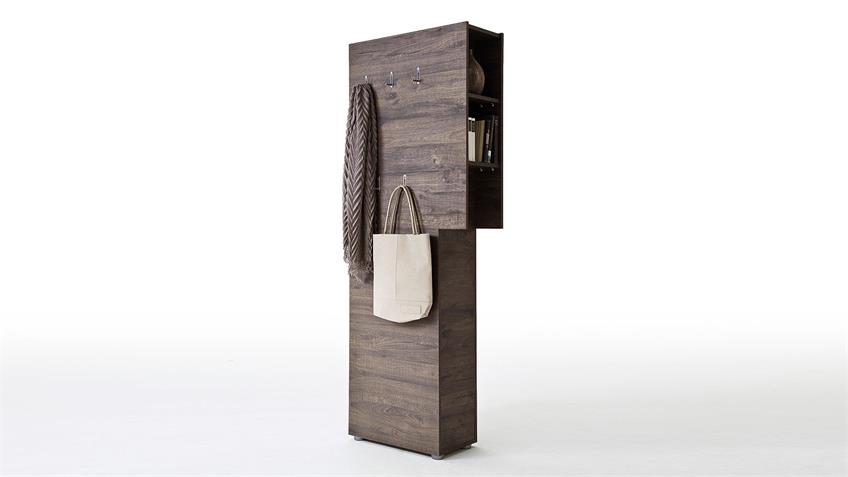 Garderobenpaneel VICENZA Garderobe Paneel in Wenge