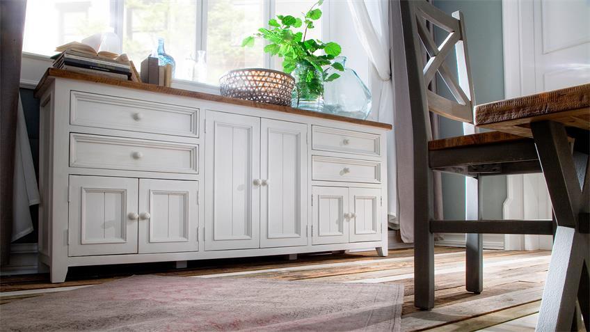 Vintage möbel weiss braun  Vintage Möbel Weiss Braun ~ Kreative Ideen über Home Design